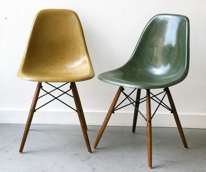 Icone du Vintage #1 : The Fiberglass chair - EAMES - L\'Atelier Rétro