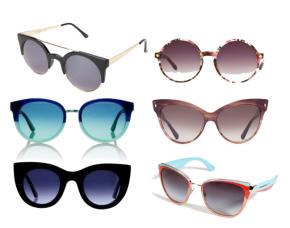 sélection de modèles de lunettes vintage pour été 2014