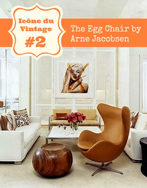 Vintage2Le Arne Chair Egg Icône Du Jacobsen Œuf – Fauteuil The KlcT1JF3