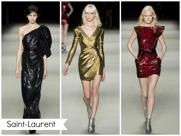 mode 2014, robes tendance DISCO de Saint-Laurent