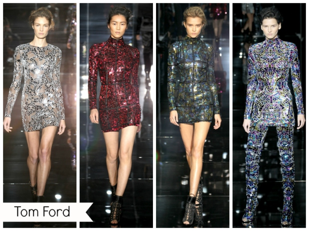 mode 2014 robe disco de Tom Ford