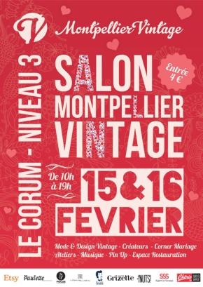 Salon Montpellier Vintage 15 et 16 février 2014