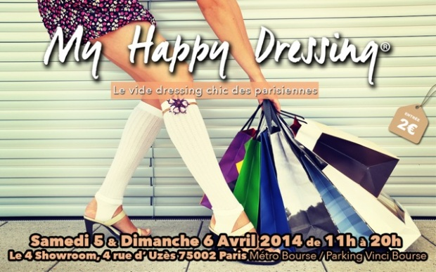 My happy dressing - vide dressing des parisiennes