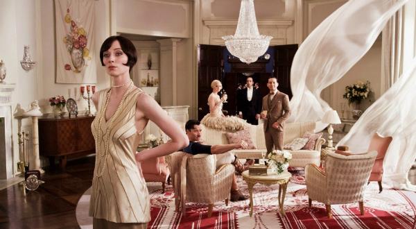 gatsby : décor et costumes années 20 vintage